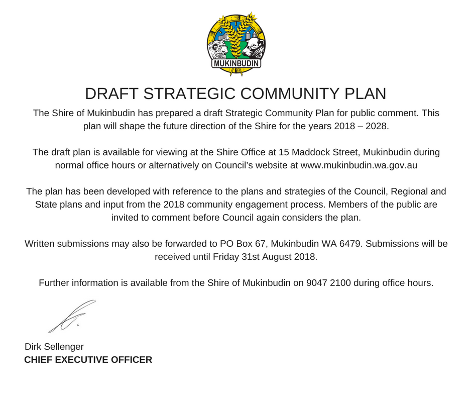 Strategic Community Plan 2018-2028
