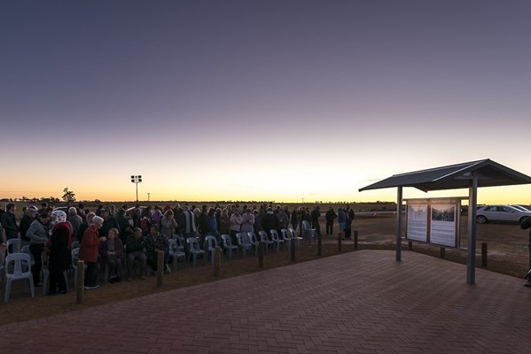 Mukinbudin - Pope's Hill Memorial Site - Dawn Anzac